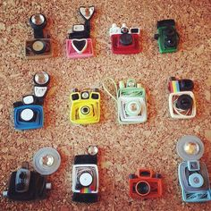 Custom Listing for gulley17 - Vintage Camera Cards - Set of 6 - Unique Greeting Cards - Photography. $26.95, via Etsy.