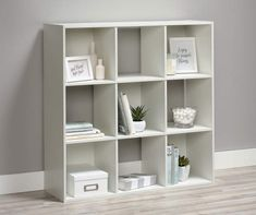 Cube Storage Shelves, Fabric Storage Bins, Fabric Boxes, Basement Storage, Fabric Basket, Book Storage, Storage Ideas, Ikea Cubes, Cube Decor