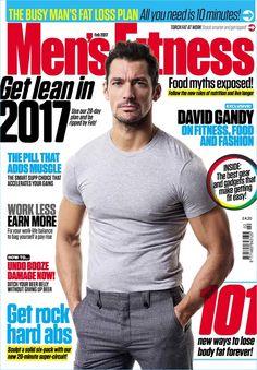 Men's Fitness UK February 2017 starring David Gandy