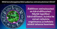 Mitä horoskooppimerkkisi paljastaa ominaisuuksistasi äitinä?