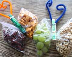 Beautiful butterfly snack  - A quick and easy way to make a snack special -A Little Craft in Your Day