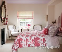 Refined Girl's Bedroom | Photo Gallery: Sarah Richardson Designs | House & Home | Photo by Stacey Brandford