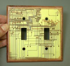 recycled circuit board switchplate