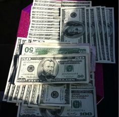 Money flows to me like magic.--its magic the way money flows to me