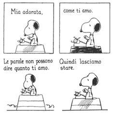 Snoopy per S. Valentino...è perfetto!