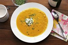 Corn and Butternut Squash Chowder. This was delicious. The boy said he liked it as much as my split pea soup (which is saying something, because I have to make that once a week during the winter to keep up with demand for it). I loved the bite of the curry and the sweetness of the squash/corn combo. Yum! Will go into the regular rotation.