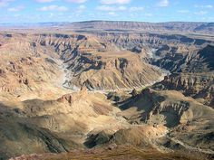 cool Fish River Canyon, Namibia Check more at http://www.discounthotel-worldwide.com/travel/fish-river-canyon-namibia-28/