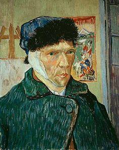 Vincent Van Gogh - Selbstbildnis mit verbundenem Ohr - jetzt bestellen auf kunst-fuer-alle.de