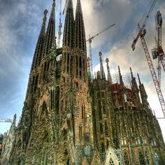 Barcelona - Templo Expiatório da Sagrada Família