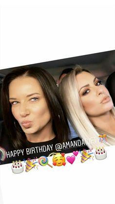 Maryse Wwe, The Miz And Maryse, Happy Birthday, Friends, Happy Brithday, Amigos, Urari La Multi Ani, Happy Birthday Funny, Boyfriends