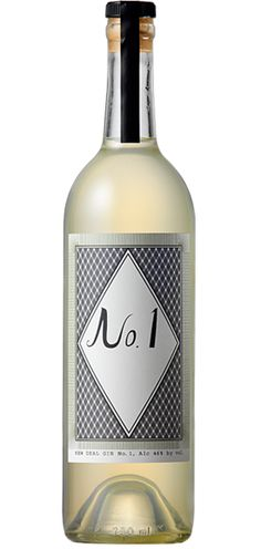 New Deal Distillery's Gin No. 1. Strong on the juniper! From Portland, Oregon.