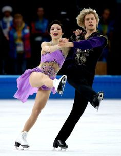 Meryl Davis and Charlie White capture first Olympic ice dance gold medal for U.S. - Yahoo Sports
