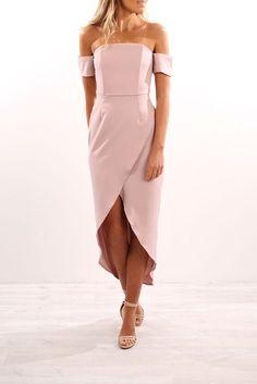 Keep Me Crazy Dress Pink