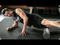 ▶ FOAM ROLLING: How to Reduce Muscle and Joint Pain | Tony Horton Fitness - YouTube