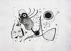 Joan Miró - Barcelone XXXXIX
