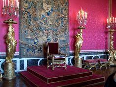 Salón del Trono, Salón de Apolo, del palacio de Versalles