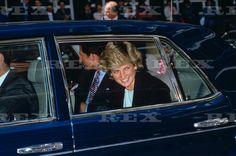 May 8 1987: Prince Charles and Princess Diana visiting Great Ormond Street…