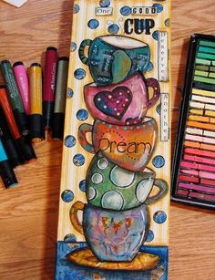 My Art Journal: Some New Art--A Small Step-by-Step Tutorial