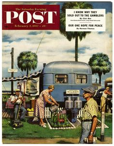 Saturday Evening Post, 1952.