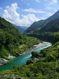 Iya valley, Tokushima, Shikoku, Japan
