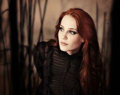 women redheads Simone Simons - Wallpaper (#920484) / Wallbase.cc