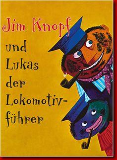 Jim Knopf und Lukas der Lokomotivführer - Michael Ende (= Jim Button and the Engine Driver)