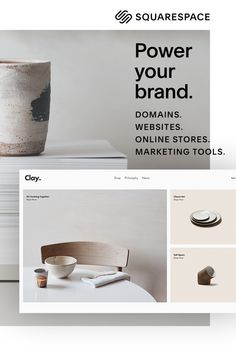 Stand out with a professional website, portfolio, or online store from Squarespace. Best affiliate marketing for beginners pics. Layout Design, Web Layout, 3d Templates, Branding Design, Logo Design, Graphic Design, Design Web, Flat Design, Body Jewelry Shop