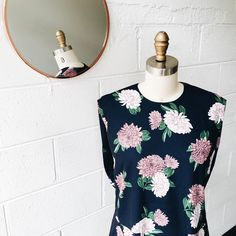 I have to post another close up photo here to show you how pretty the floral prints are!! Available online now  #keepsakethelabel #keepsake