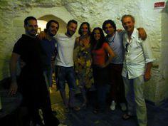 Profesores de flamenco, Nacho y Carmen con Marco Flores en 2013