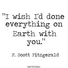 5 Quotes That'll Make You Wish That F. Scott Fitzgerald Was Your Lover