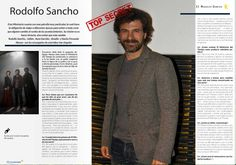 Entrevistamos a Rodolfo Sancho Design Reference, Men Sweater, Layout, Cruises, Interview, Culture, Movies, Page Layout, Men's Knits