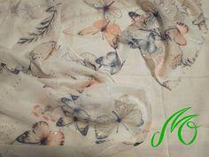 Rochiță din eșarfă cu fluturi – Pillowcase dress from scarf with butterflies