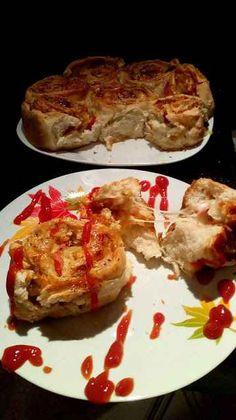 Πεντανόστιμα Ρολά Πίτσας για το παιδικό πάρτι! French Toast, Snacks, Cooking, Breakfast, Food, Food And Drinks, Cucina, Breakfast Cafe, Appetizers