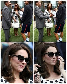 "578 Likes, 2 Comments -  Catherine elizabeth  (@_duchesskatemiddleton) on Instagram: ""#NEWS #NEW #TODAY Catherine, The Duchess of Cambridge at Wimbledon today! . . . . . . . .…"""