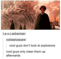 Levi Rivaille in one picture