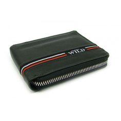 Velká černá kožená pánská peněženka na zip peněženky AHAL Pierre Cardin, Zip Around Wallet, Fashion, Moda, Fashion Styles, Fashion Illustrations