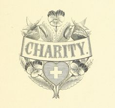 Charity graphic from 1869.