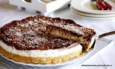 Cheesecake cocco e cioccolato alla ricotta