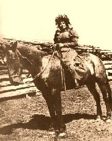 """Ella Watson aka """"Cattle Kate"""" was lynched along with her husband in Wyoming for cattle rustling. 1889"""