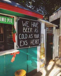 We have beer as cold as your wc's heart As Cold As, Beer Fest, Cold Hearted, Beer Garden, Beach Signs, Love Your Life, Adult Humor, Funny Signs, Laughter