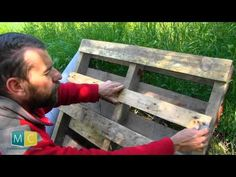 Mur végétal en palette - YouTube                                                                                                                                                                                 Plus
