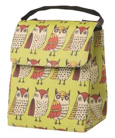 Look what I found on #zulily! Wise Owl Insulated Lunch Bag #zulilyfinds