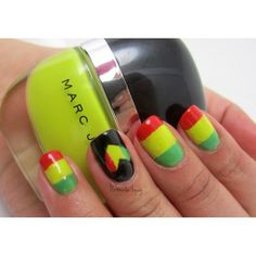 NailCall: Graphic Brights and Simple Nail Art | Beauty High