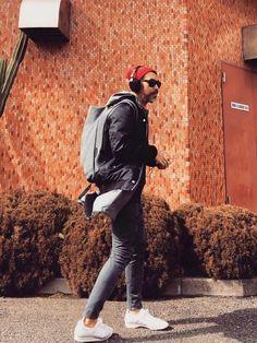 YosaKugino COTEetCIELのバックパック/リュックを使ったコーディネートWEAR #headphones #skullcandy