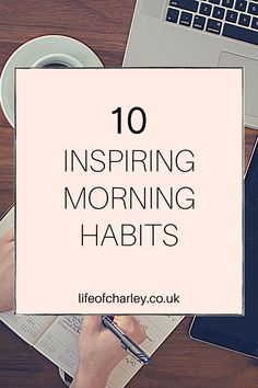 Jump out of bed in the morning with these 10 amazing morning habits that will change your life and help you to be your most successful. Your Best Life Now, Life Is Good, Morning Habits, Growth Mindset, Personal Development, Are You Happy, Success, Change, Thoughts