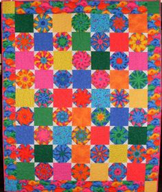 Q-Colorful Fish by Linda Rotz Miller Quilts & Quilt Tops, via Flickr