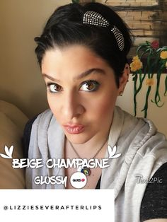 Beige Champagne LipSense, Glossy Gloss Color Correcting Tinted Moisturizer Candlelight Shadowsense Pearlizer Makesense Onyx Shadowsense Pouty Pink Blushsense @lizzieseverafterlips www.senegence.com/everafterlips join my facebook group @lizzieseverafterlips