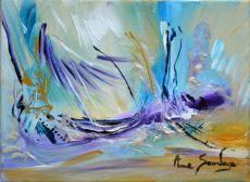 tableau contemporain de l'artiste peintre Ame Sauvage à découvrir sur ce lien http://www.amesauvage.com/artiste-peintre-contemporain-2/tous-les-tableaux/bateau.html