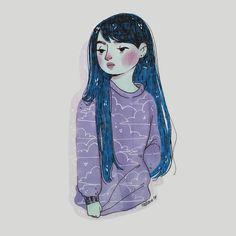 Blue Friday, Illustrations, Instagram Posts, Anime, Art, Sad Day, Art Background, Illustration, Kunst