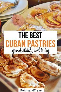 Jamaican Desserts, Cuban Desserts, Cuban Food Recipes, Cuban Dishes, Cuban Cuisine, Visit Cuba, Pastry And Bakery, Unique Recipes, International Recipes